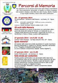 Sulla strada per Leobschutz 27 1 14 Opera -Locandina