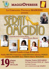 Serata omicidio 19 6 14 Opera Locandina