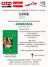 Ambrosia 19 9 15 Milano locandina