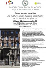 29 6 16 Cultura dialettale - Locandina