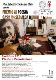 Locandina 8 10 16 Premio Casa Museo Alda Merini
