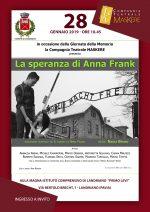 28 1 19 Landriano - La speranza di Anna Frank – 11^ replica