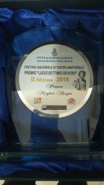 Premio Lucio Settimio Severo 2019 - Albano Laziale: Nadia Bruno miglior regia e miglior attrice protagonista [Signorine in trans]