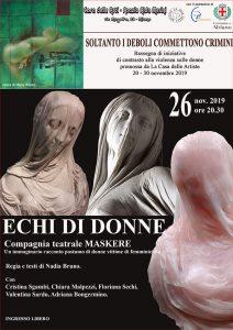 ECHI DI DONNE - Milano @ Casa delle Arti - Spazio Alda Merini