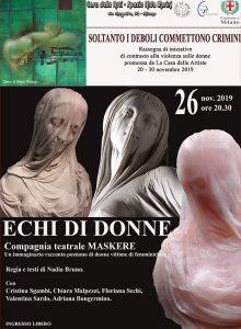 26 11 19 Milano – ECHI DI DONNE