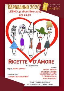 Ricette d'amore @ LESMO - Cine Teatro Piccolo