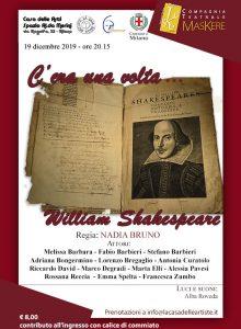 19 12 19 Milano – C'era una volta… W. Shakespeare
