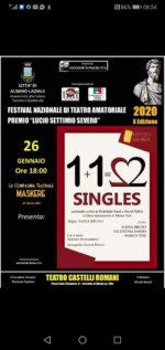 26 1 2020 Albano Laziale - Singles
