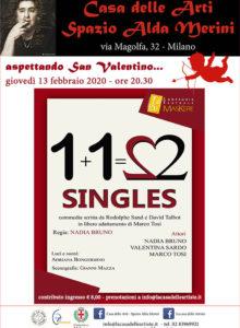 13 2 20 Milano – Singles