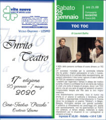 TOC TOC @ Lesmo (MB) - Cine Teatro Piccolo