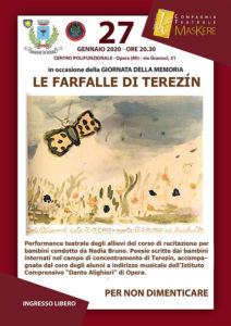 Le farfalle di Terezín @ Opera - Centro Polifunzionale - Sala Serafin