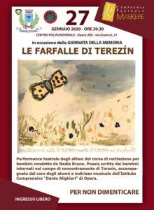 27 1 20 Opera (MI) – Le farfalle di Terezín