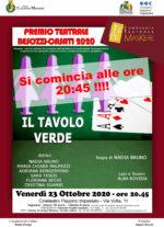 23 10 2020 Cologno Monzese - Il tavolo verde