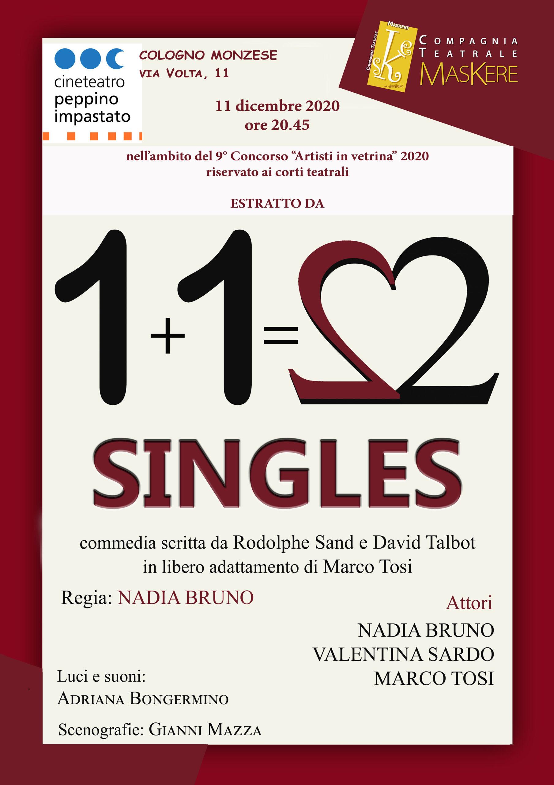 11 12 20 Cologno Monzese – Singles (corto)