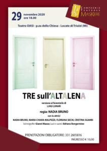 Tre sull'altalena (vers. femminile) @ Locate Triulzi (MI - Teatro OASI