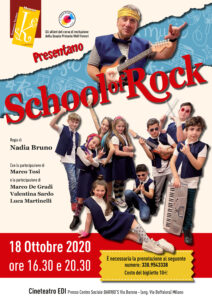 School of Rock @ Milano -Cineteatro EDI – centro sociale BARRIO'S